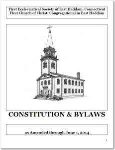 Constitution & Bylaws cover, June 1, 2014