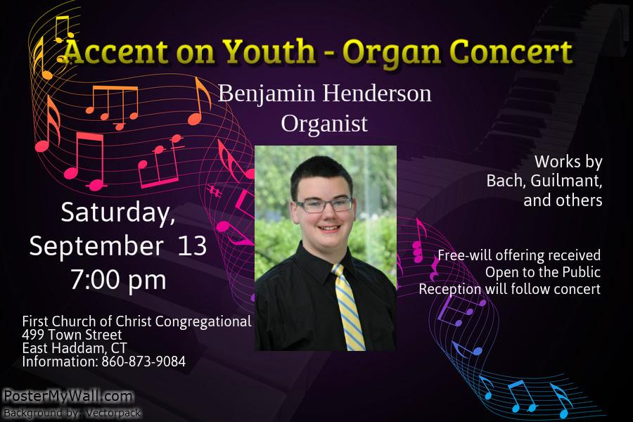 Ben Henderson Concert Poster, September 13