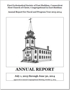 Annual Report 2013-2014 front page image